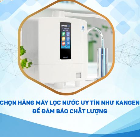 máy lọc nước ion kiềm Kangen K8 chính hãng