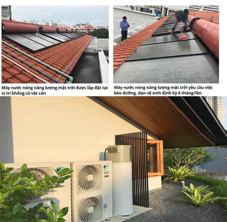 máy nước nóng aosmith hcm được lắp đặt linh hoạt và dễ dàng hơn máy nước nóng năng lượng mặt trời